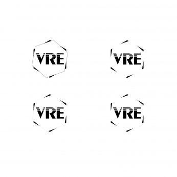 VRE - VR Entertainments Logo Entwürfe