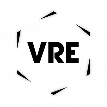 VRE - VR Entertainments Logo